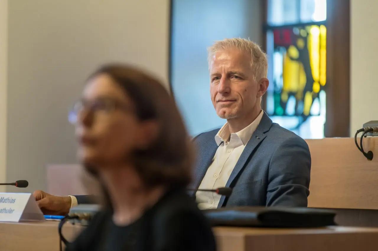 Er soll Scheitlins Nachfolger werden: Die FDP portiert Mathias Gabathuler als Kandidaten fürs St.Galler Stadtpräsidium