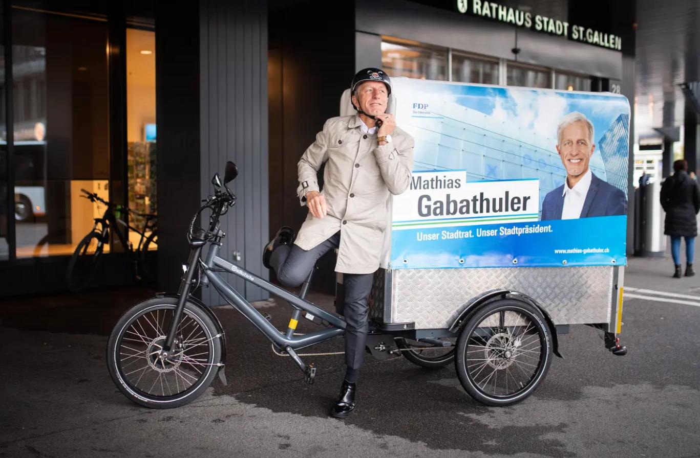 St.Galler Stadtratswahlen: FDP-Kandidat Mathias Gabathuler tritt nochmals an, die CVP hat's nicht eilig und die Grünen liebäugeln mit einer eigenen Kandidatur