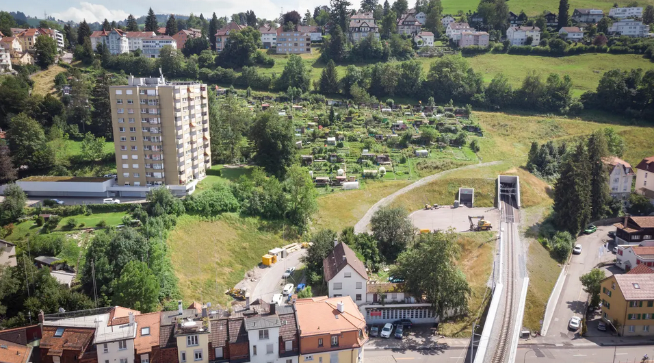 Die Ruckhalde wird zur Nagelprobe für die neue Wohnraumstrategie der Stadt St.Gallen